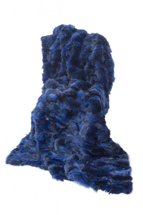 Kitfuchs Decke dunkelblau 210x140