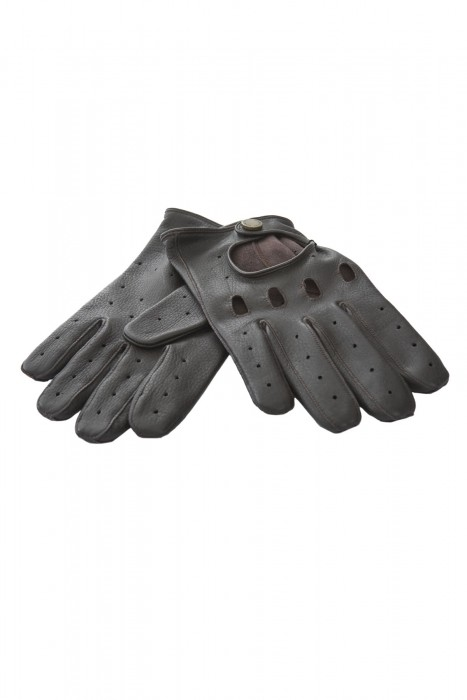Lammleder Handschuhe braun Heinz Bauer