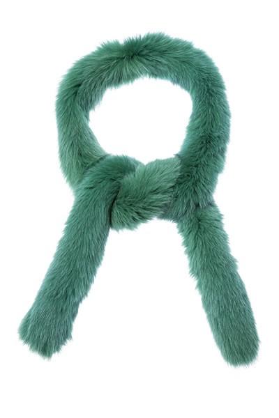 Hellgrüner Blaufuchs Schal