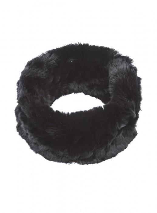 Rexkanin Stirnband schwarz