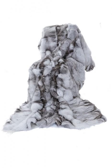 Blaufuchs Wammen Decke naturfarben 210x140