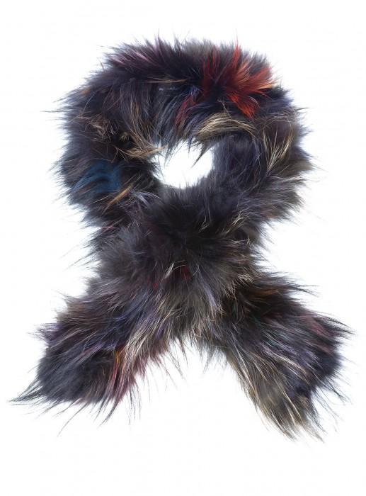 Silberfuchs Schal multicolor