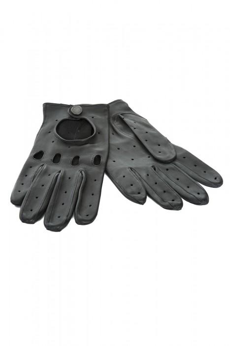 Lammleder Handschuhe schwarz Heinz Bauer