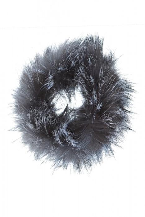 Naturfarbenes Silberfuchs Stirnband