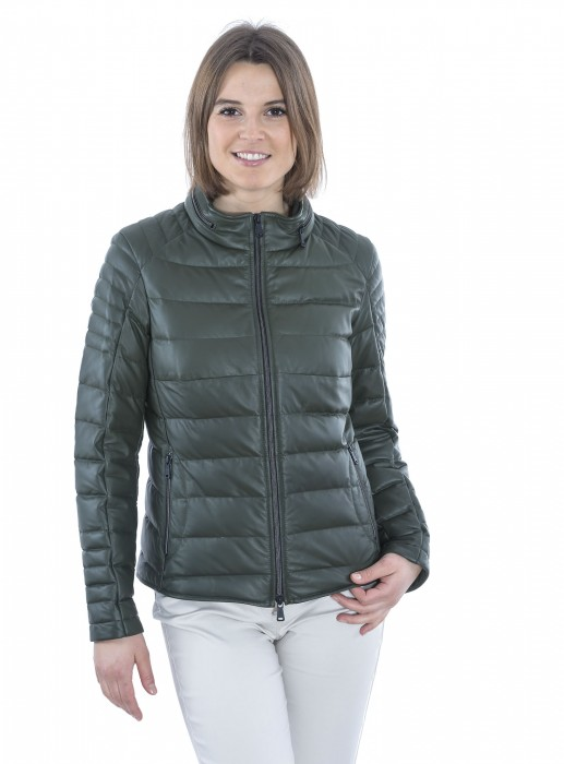 Leder Steppjacke Skywalk Heinz Bauer