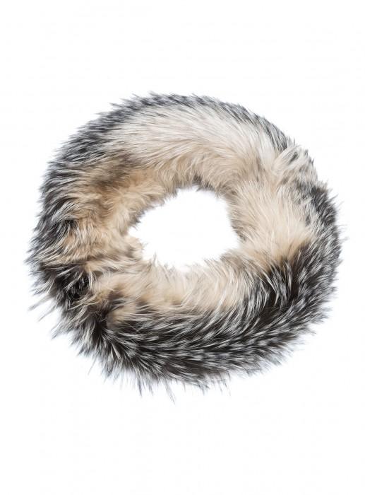 Silberfuchs Loop Schal beige
